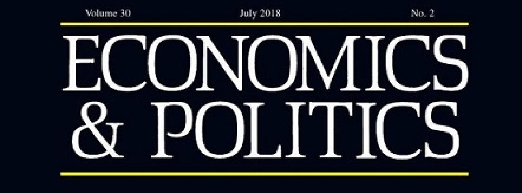 Economics and Politics cover