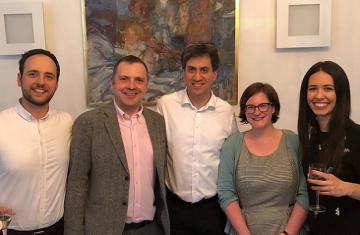 Group shot with Miliband
