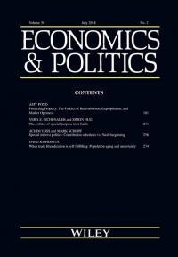 Economics and Politics cover